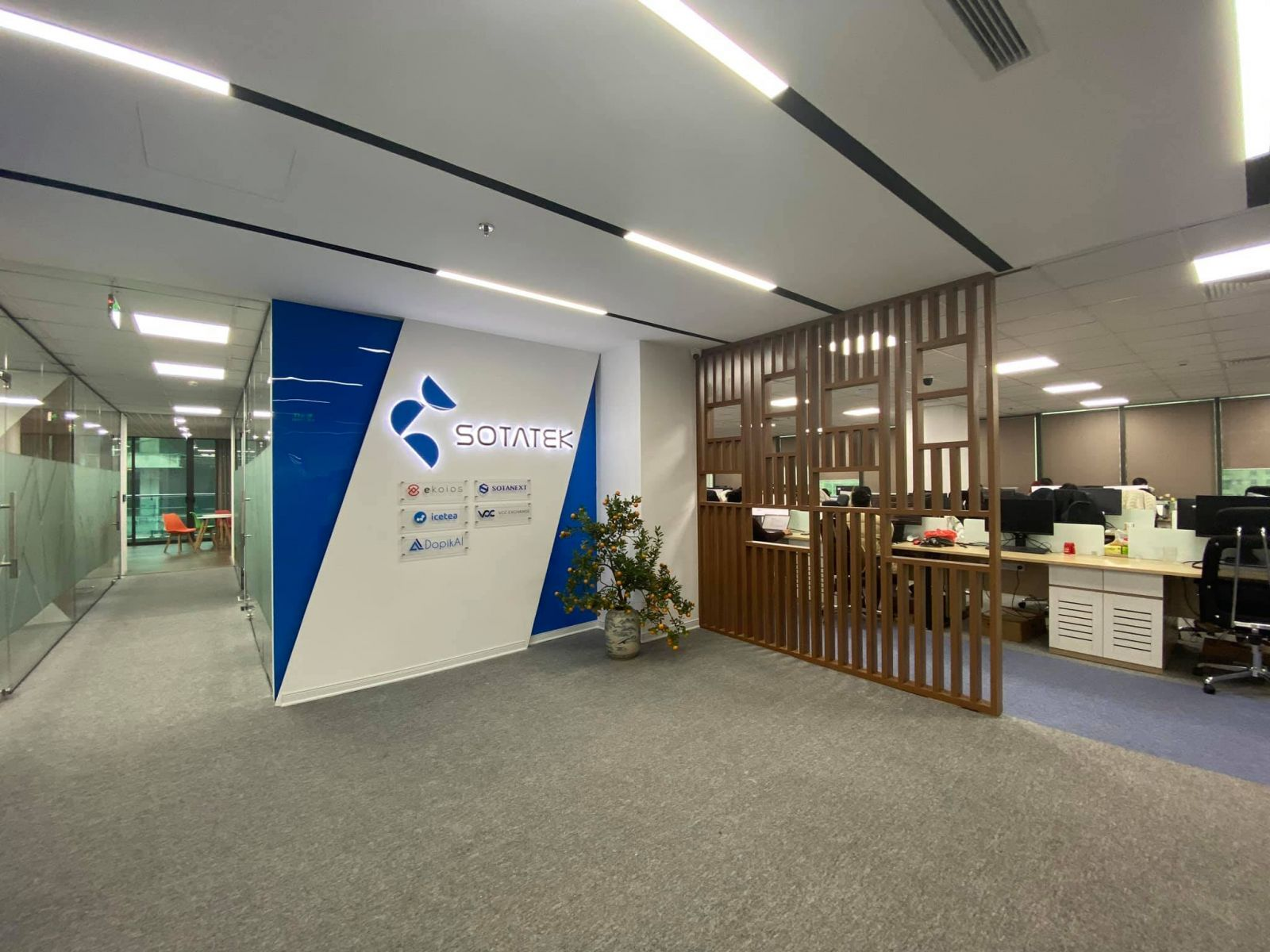 SotaTek second office 3