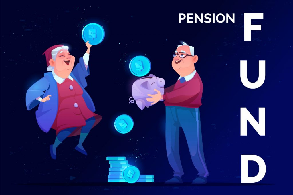 block chain technology pension