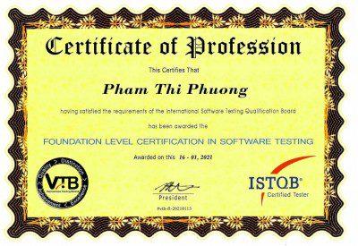certificate.Phuong