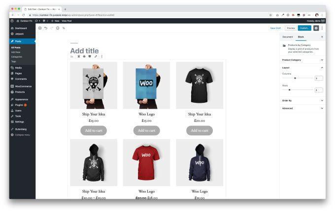 ecommerce website development platform